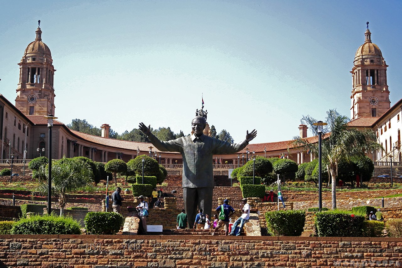 """Union Buildings"", Pretoria / Union Buildings, Πρετόρια"