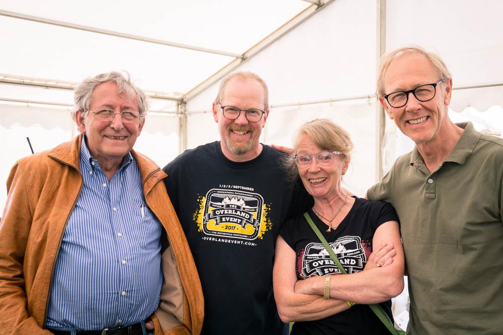 Our UK trip - Το ταξίδι μας στην Αγγλία - Ted Simon, Paddy Tyson, Richard & Mopsa English