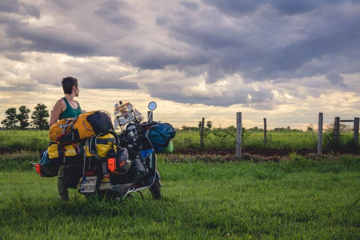Vespa travel Brazil video featured