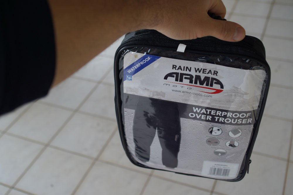 ARMR Rainwear Waterproof Over Trouser