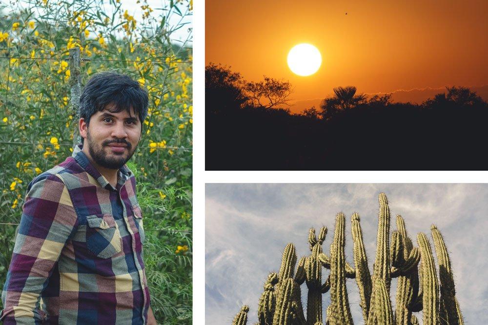 rohayhu paraguay chaco sunset