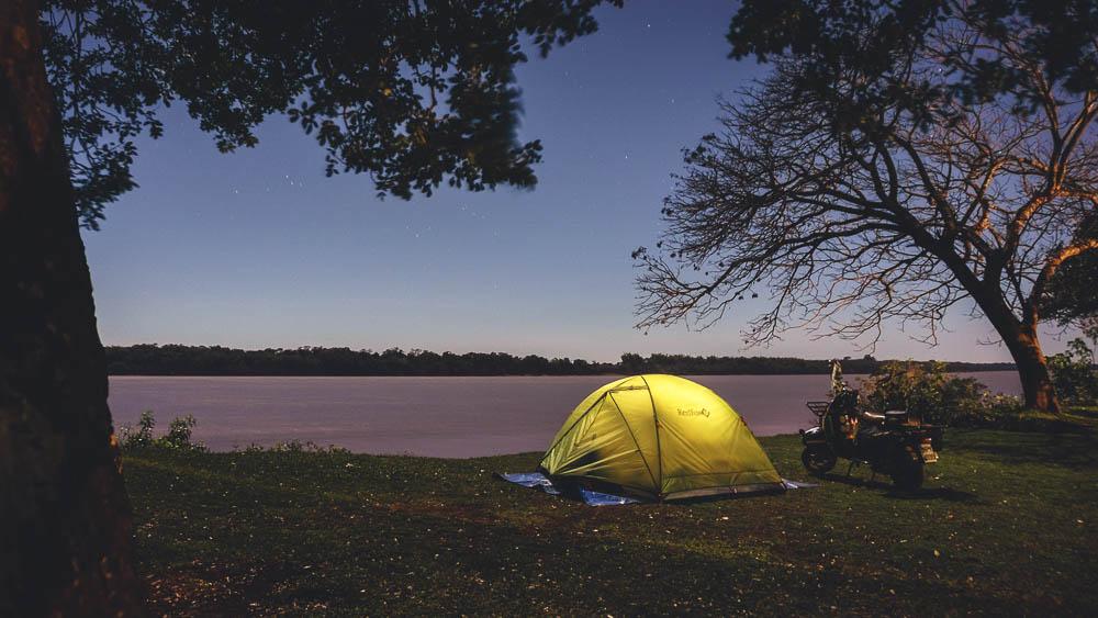 Camping at Santo Tome - Argentina