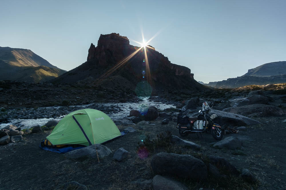 chile camping