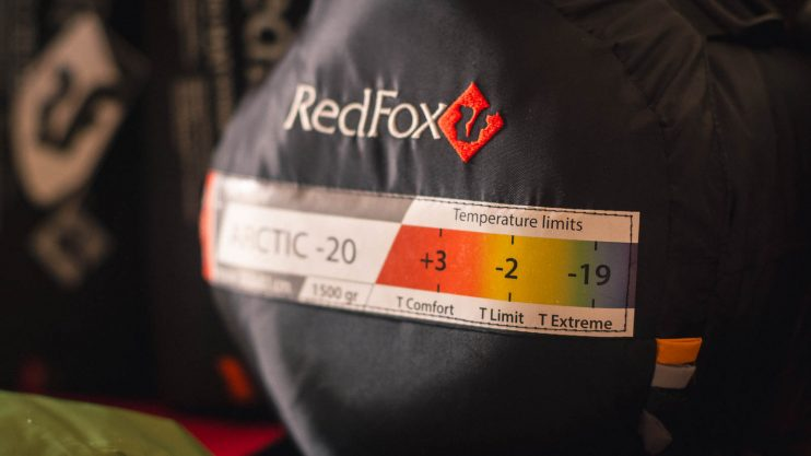 redfox arctic -20 sleeping bag review