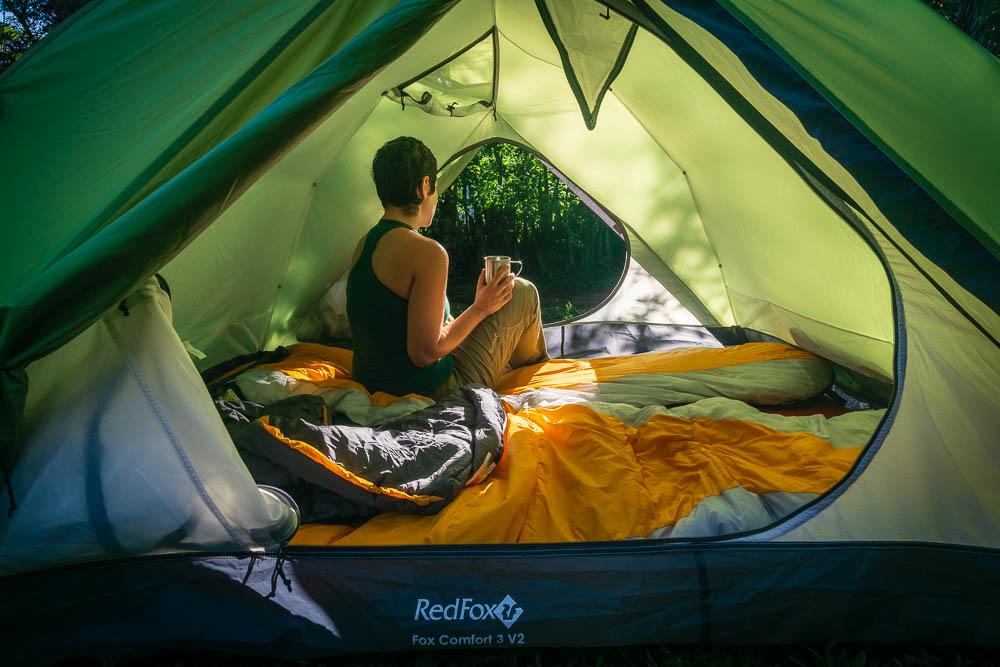 RedFox Comfort 3 tent interior