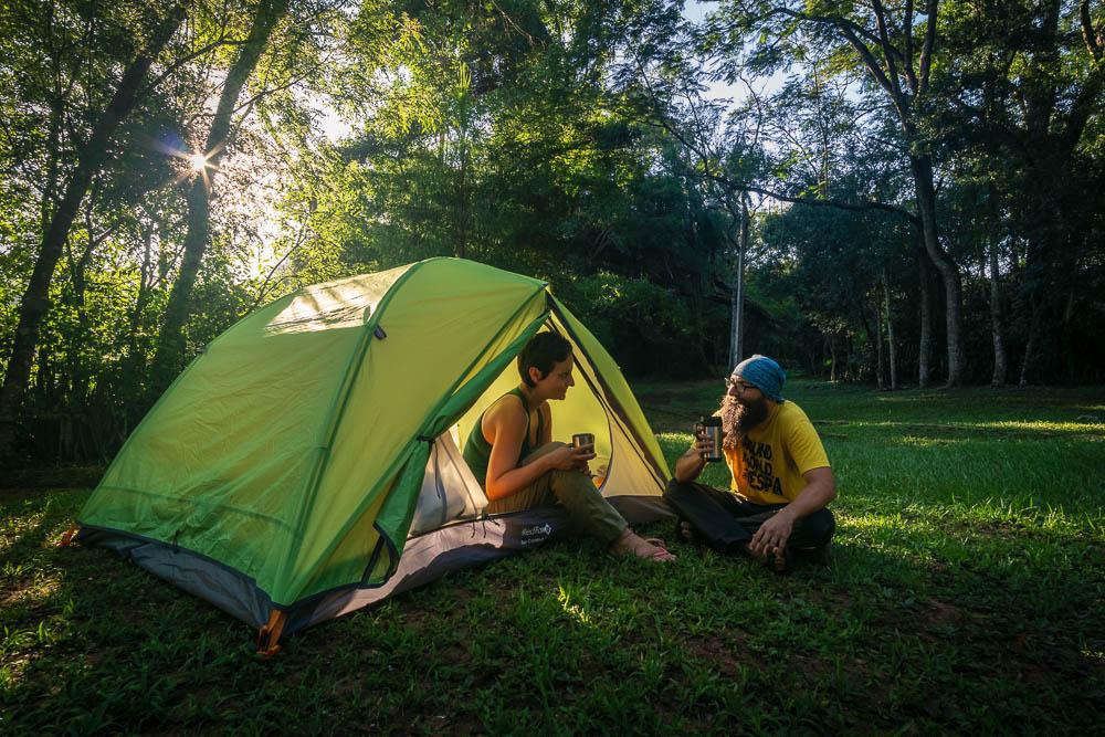 RedFox Comfort 3 tent camping