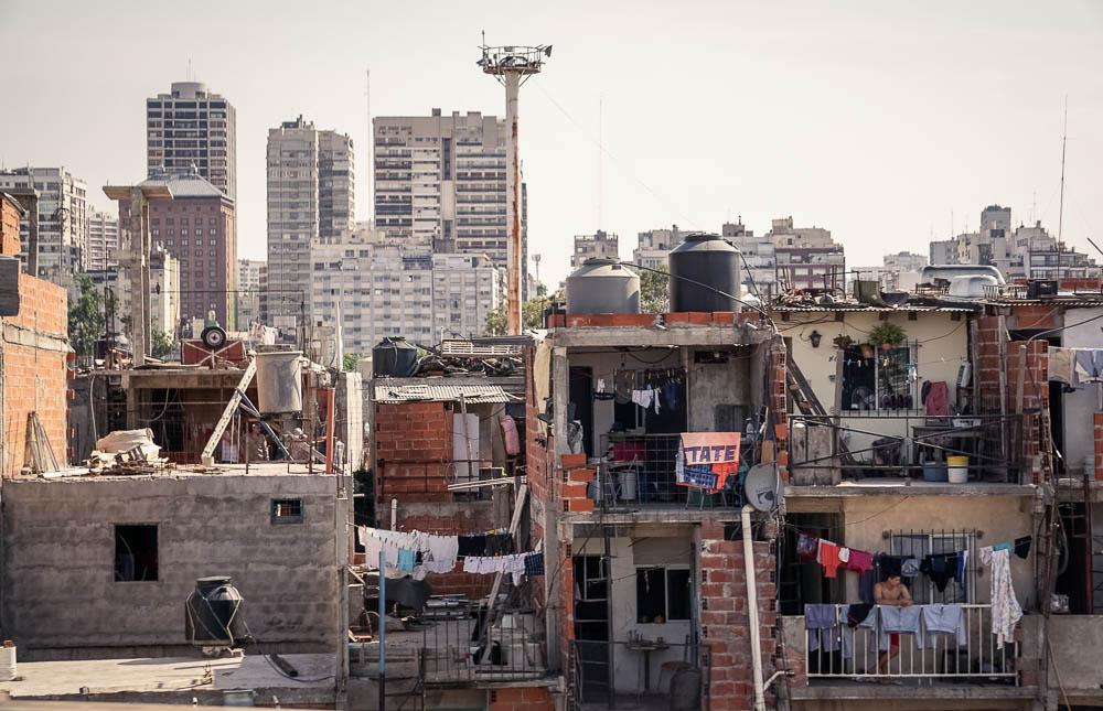 Villa 31 in Buenos Aires, Argentina