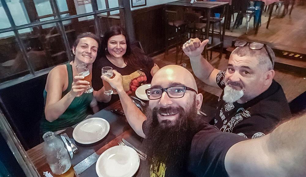 Nuestros amigos Silvina y Sefe - Buenos Aires has everything